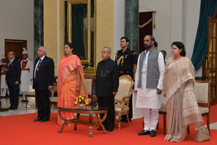 Special CII session at Rashtrapati Bhawan